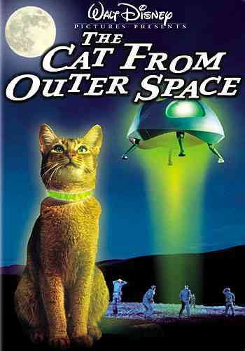 CAT FROM OUTER SPACE BY BERRY,KEN (DVD)